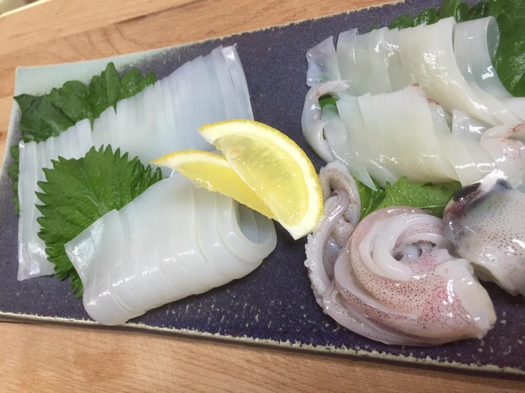 仙崎産赤イカ‼️